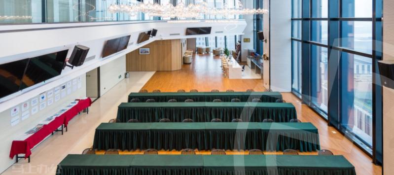 上海航运和金融产业基地众创空间会议室图片