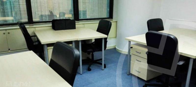 静安寺创客空间无窗办公室图片