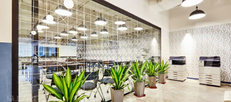 氪空间共享办公会议室图片
