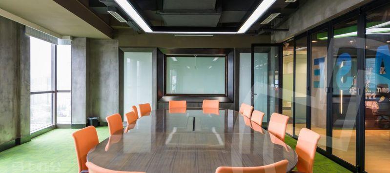 YBase(城汇大厦)众创空间办公室照片